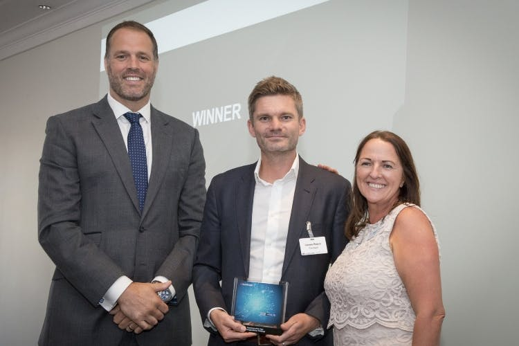 Pentagon Celebrates Auto Trader Click Award