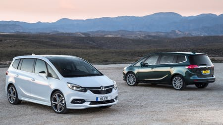 Vauxhall's Flagship Car Gets A New Chiselled Look