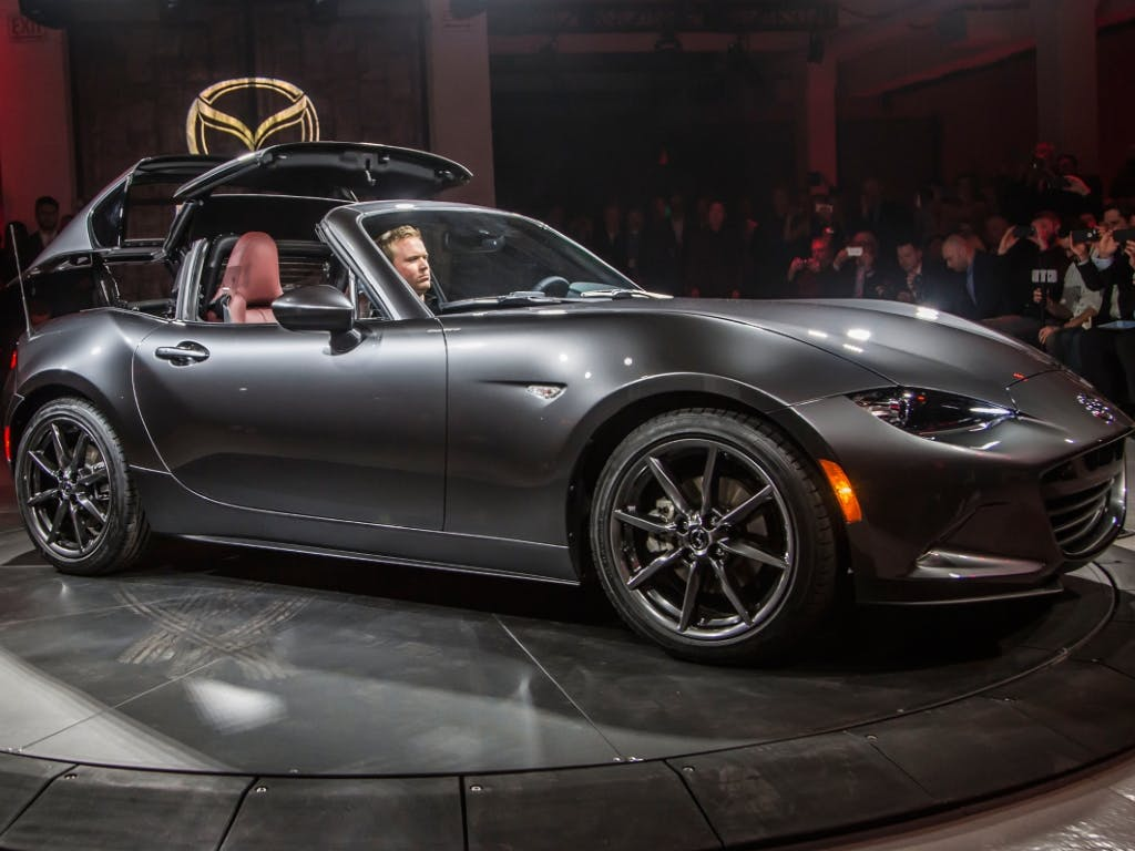 The All-New Mazda MX-5 RF Will Arrive At Pentagon Mazda In March 2017