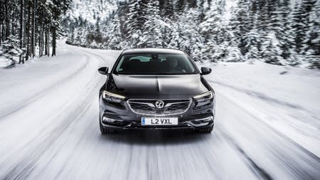Winter Is No Problem For The All-New Vauxhall Insignia Grand Sport