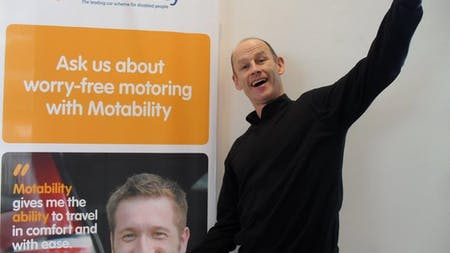 Pentagon Celebrating Double Win At The National Motability Awards
