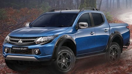 The Limited Edition Mitsubishi L200 Barbarian SVP Is Here