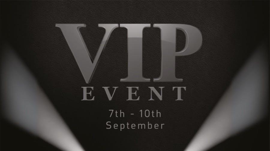 Pentagon's VIP Event Returns!