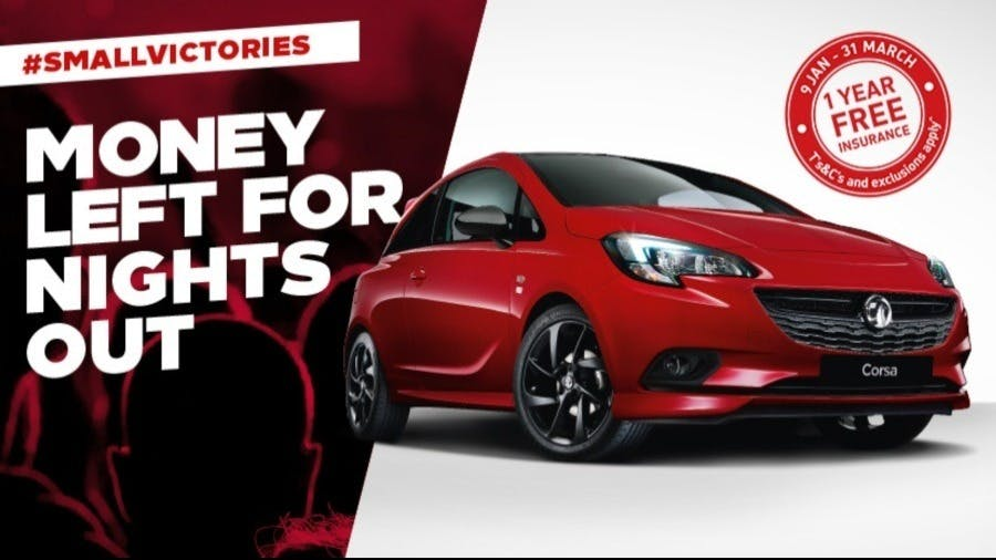 Celebrate 25 Years Of The Vauxhall Corsa With Free Insurance and 0% APR Finance