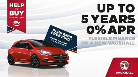 £500 Free Fuel Giveaway At Pentagon Vauxhall This Weekend