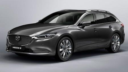 New Mazda 6 Tourer Gets A Facelift