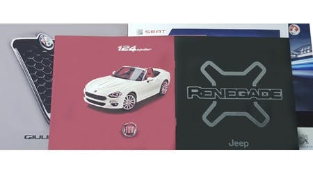 New Car Brochures Online Now