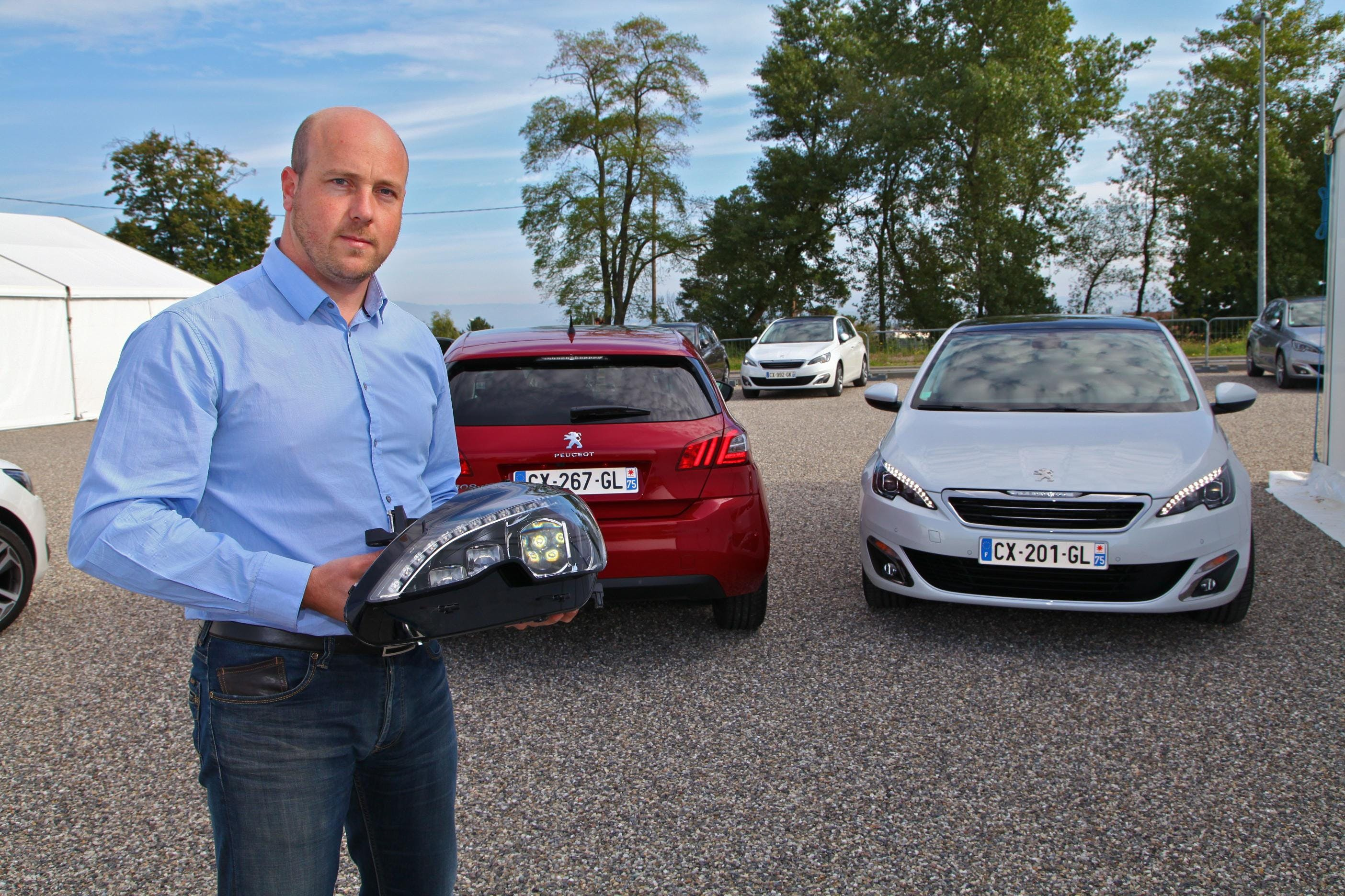 Ben Hindsley Gives Peugeot 308 'The Light Touch'