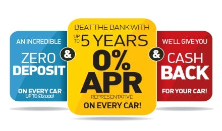 Choose Interest Free Car Finance In The Pentagon Used Car Event