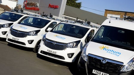 Tuntum Housing Association Takes Delivery of New Vauxhall Vans from Pentagon