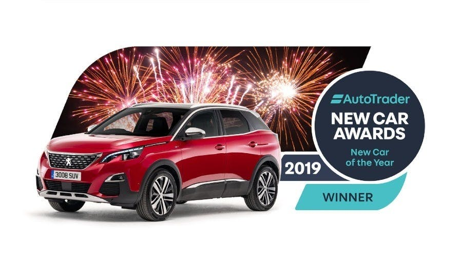 Peugeot 3008 SUV Wins Auto Trader's 'New Car Of The Year' Award