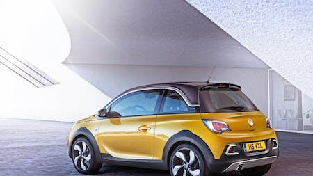 Vauxhall unveils ADAM ROCKS at Geneva Motor Show