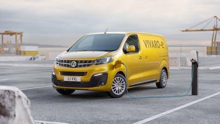 Vauxhall Reveal All-Electric Vivaro