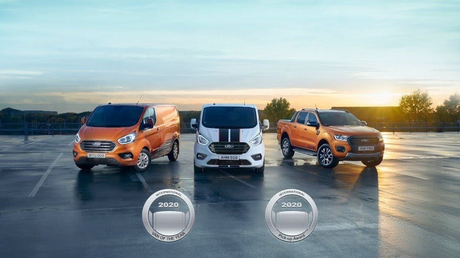 Double Honours for Ford at International Van Awards