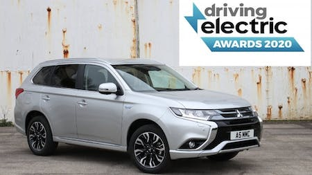 Mitsubishi Outlander PHEV Named Best Used Plug-In Hybrid by Driving Electric