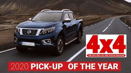 Nissan Navara Named 2020 Pick-Up of the Year by 4x4 Magazine