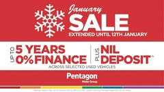 Kick Off the New Year with a Bargain in the Pentagon January Sale