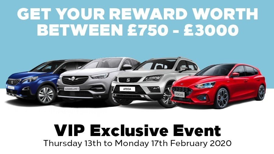 Pentagon Dealerships to Host VIP Exclusive Event in February