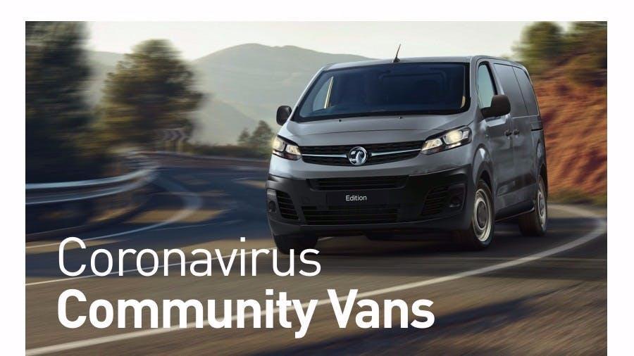 Staff Announcement: Community Van Scheme