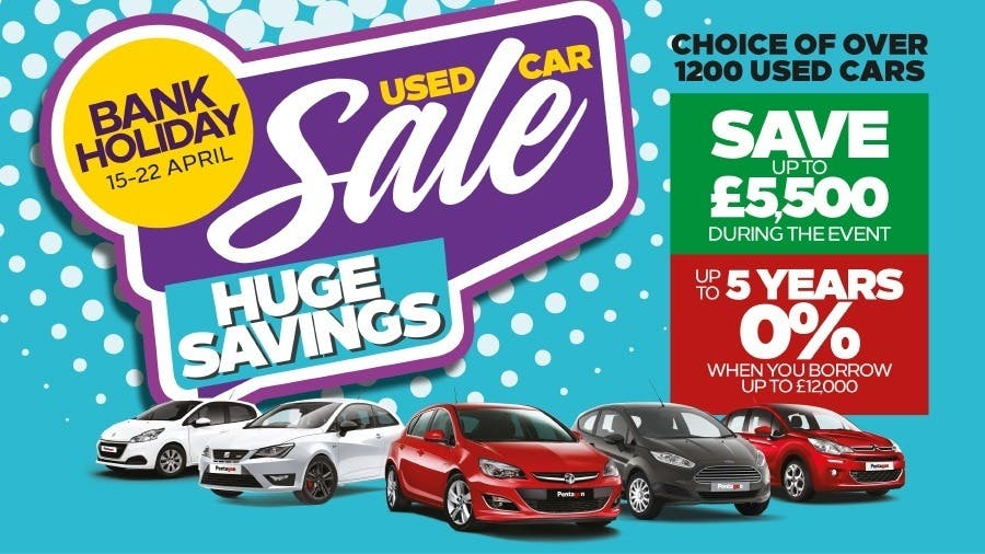 Get 5 Years 0% Finance On Used Cars At Pentagon