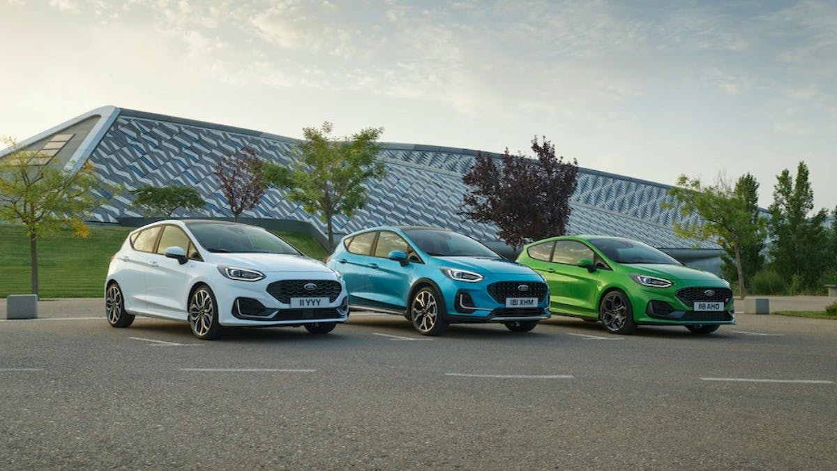 All New Ford Fiesta 2022 Available Now