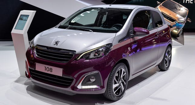 The Peugeot 108 Set For Summer Launch