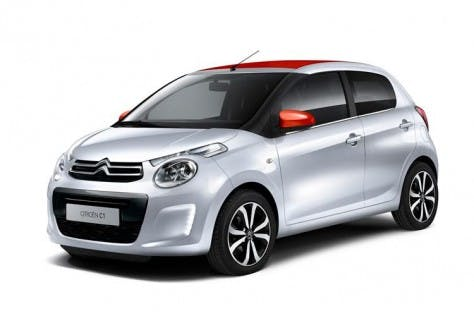 Citroën Freshens Up Urban Line With Release Of New C1