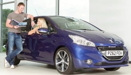 New Peugeot 208 PureTech Active Reduced At Pentagon