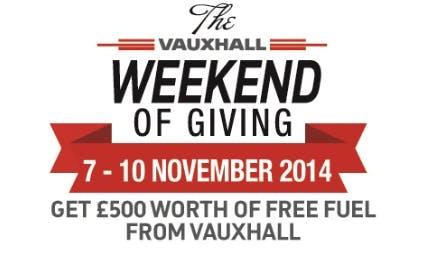 Pentagon Fuels Massive Mid-November Vauxhall Giveaway