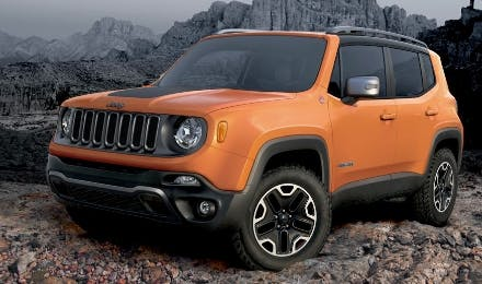 New Jeep Renegade hopes to churn up UK's compact SUV market