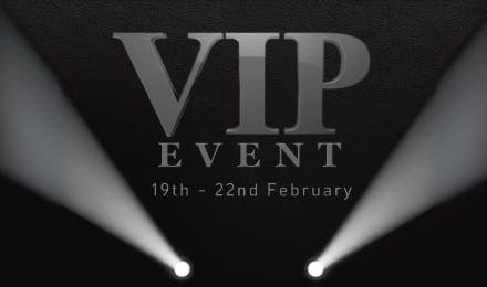 4 Day VIP Events Start 10am Thursday At Pentagon