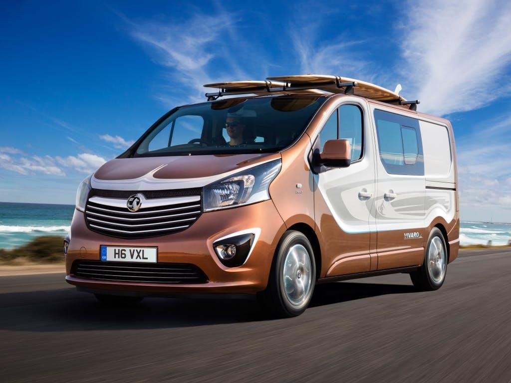Vauxhall Vivaro Surf Concept Revealed