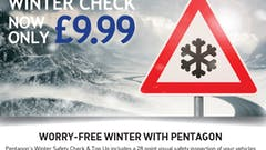 Get Your Car Ready For The Winter Months With A £9.99 Winter Safety Check