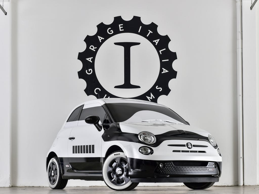 The New Fiat 500 'Stormtrooper' Edition