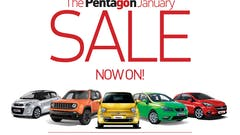 Save Thousands On A Used Car In The Pentagon January Sale