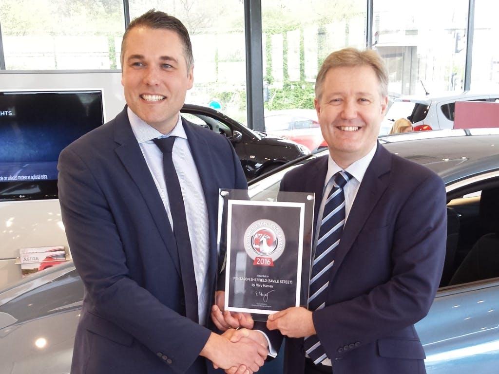 Pentagon Picks Up 3 Vauxhall Customer Excellence Awards