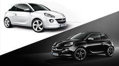 The All New Vauxhall ADAM Black And White Editions