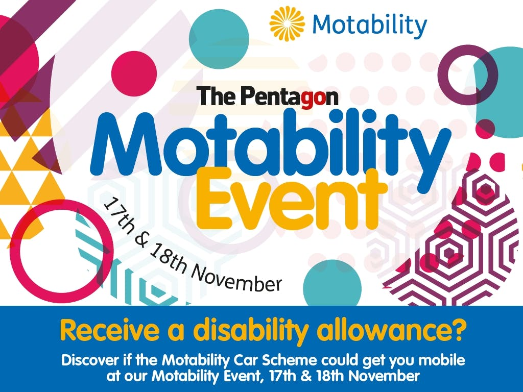 Get Mobile At The Pentagon Motability Event