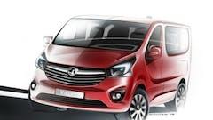First Look At The Next Generation Vauxhall Vivaro Van