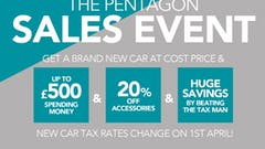 Huge Savings This Weekend In The Pentagon Cost Price Sale Event