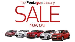 Drive Away A Bargain During The Pentagon January Sale