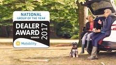 Pentagon Group Celebrates National Motability Award