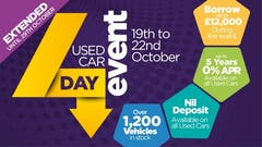 The Pentagon 4 Day Used Car Event