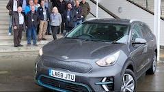 Kia e-Niro Wins Northern Group Car of the Year 2019