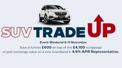 Pentagon Vauxhall encourages cleaner motoring thanks to SUV Trade Up
