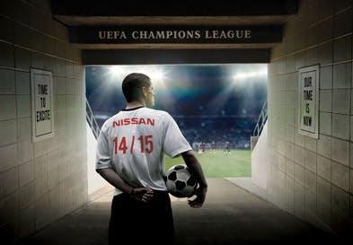 Nissan Scores UEFA Champions League Partnership Deal