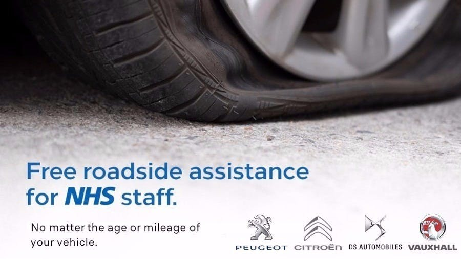 PSA Groupe Extend Roadside Assistance to NHS Staff