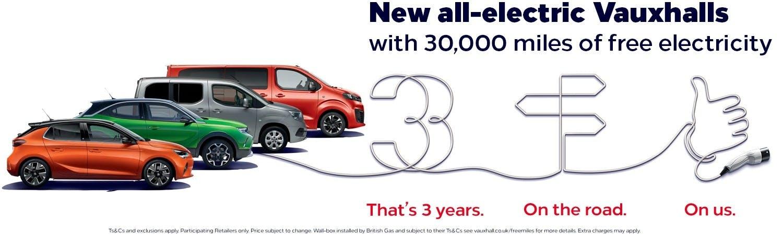 vauxhall  New Car Offer