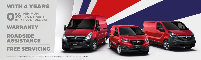 vauxhall  New Van Offer