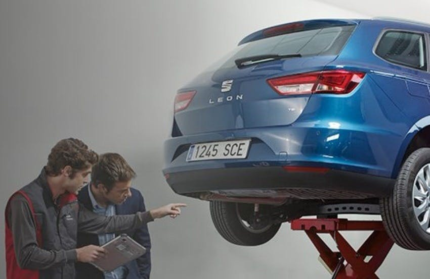 SEAT Fixed Price Servicing And Repairs